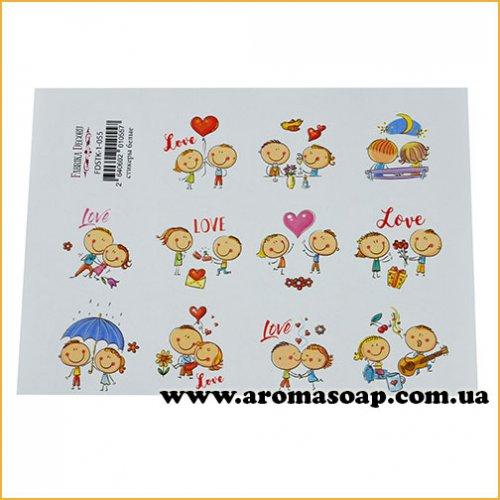 Набор наклеек (стикеров) для журналинга 1-055
