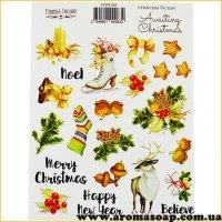Набор наклеек (стикеров) 083 Awaiting Christmas