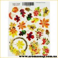 Набор наклеек (стикеров) 046 Autumn