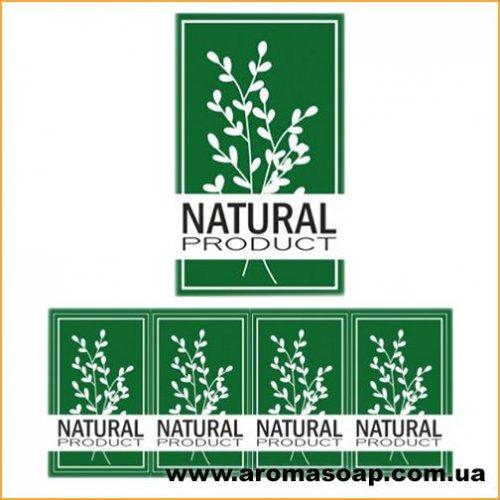 Наклейки №017 4шт Natural product