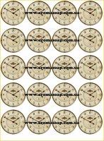 Наклейки на мыло Часы наручные