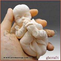 Новорожденный с шарфом 3D элит-форма