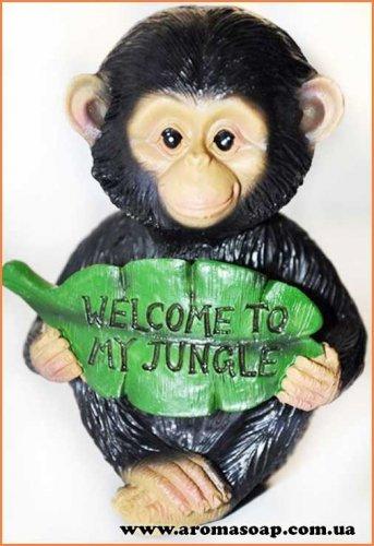 Мавпа з джунглів 3D еліт-форма