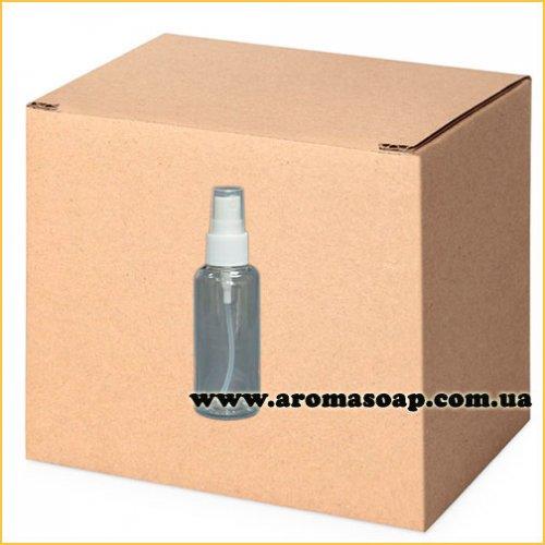Бутылочка круглая 60 мл+ Пульверизатор ОПТ 500 шт
