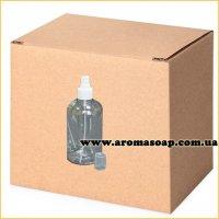 Бутылочка круглая 500 мл + Пульверизатор ОПТ 220 шт
