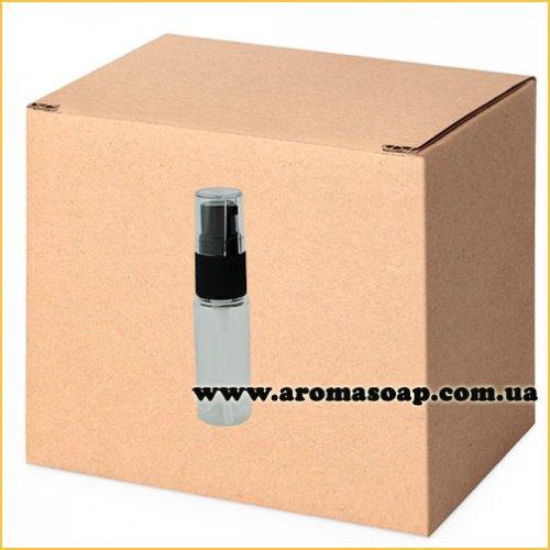 Бутылочка круглая 50 мл + черный Дозатор и крышка ОПТ 1000 шт