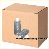 Пляшка плоска 100 мл + Ковпачок зі вставкою ГУРТ 500шт
