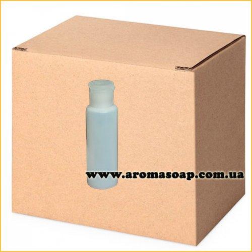 Бутылочка полупрозрачная 100 мл + Колпачок флип-топ ОПТ 600шт