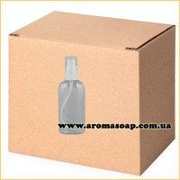 Бутылочка плоская 100 мл + Дозатор ОПТ 500 шт