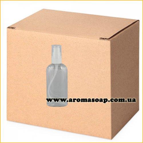Пляшка плоска 150мл + Дозатор ГУРТ 500шт