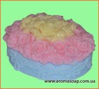 Овал в цветах 3D элит-форма