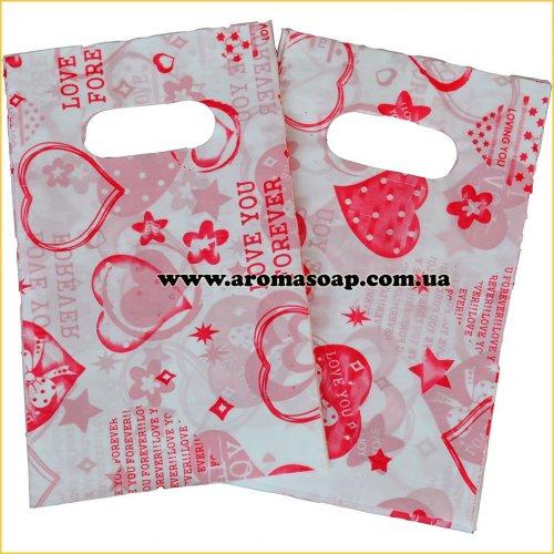 Пакетики маленькие узор 01 50 шт
