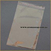 Пакетики прозрачные 13X20 (10 шт) с клейкой лентой