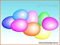 Пасхальные мини-яйца 3D элит-форма