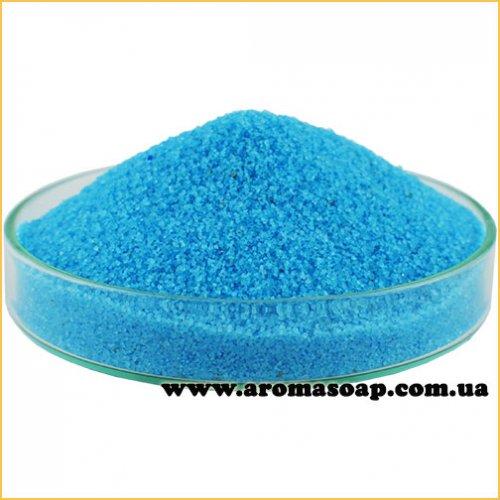 Песок для гелевой свечи Голубой
