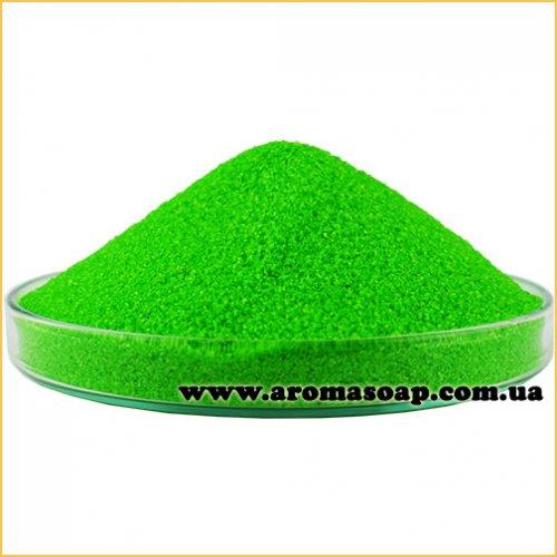 Пісок для гелевої свічки Зелений