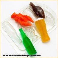 Пивний набір міні (пластик)