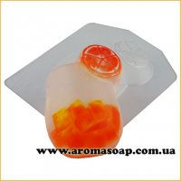 Коктейль с апельсином 95 г (пластик)