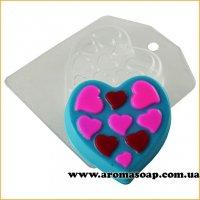 Сердечко в сердцах 77 г (пластик)