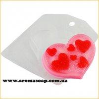 Сердце мини 60 г (пластик)