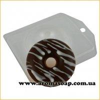 Пончик простой половинка 35 г (пластик)
