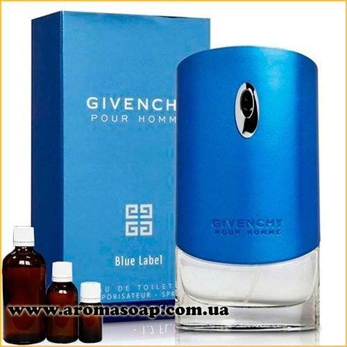 Pour Homme Blue Label, Givenchy (чоловіча) парф.композиція
