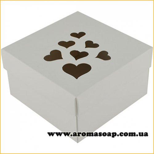 Коробка преміум Love з серцями
