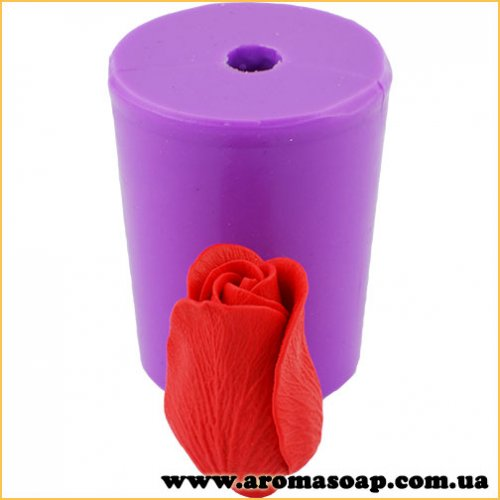 Троянда Амелія в бутоні 3D еліт-форма