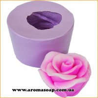 Роза чайная в бутоне 3D элит-форма