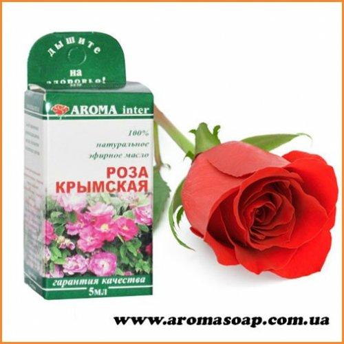 Роза крымская эфирное масло 5 мл