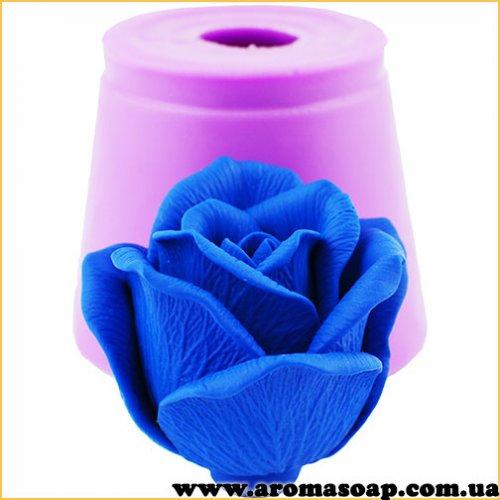 Роза Топаз в бутоне 3D элит-форма