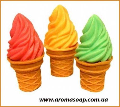 Мороженое в стакане рожок 3D элит-форма