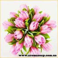 Тюльпани на дроті рожеві 20шт