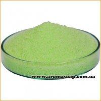 Салатовий пальмовий віск для насипної свічки (гранула)