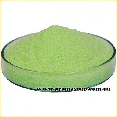 Салатовый пальмовый воск для насыпной свечи (гранула)