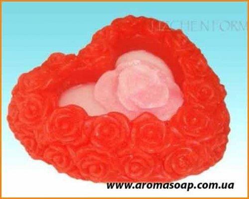 Сердце в розах  элит-форма