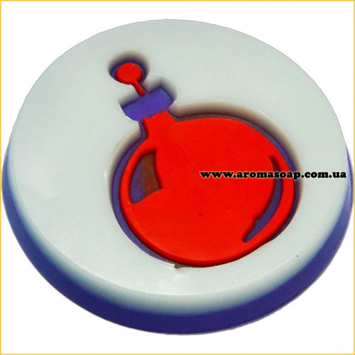 Шар елочный штамп (силикон)