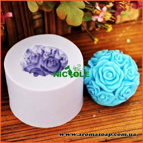 Куля з троянд 3D еліт-форма
