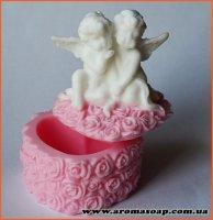 Шкатулка з ангелами 3D еліт-форма