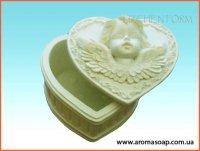 Шкатулка с ангелочком 3D элит-форма