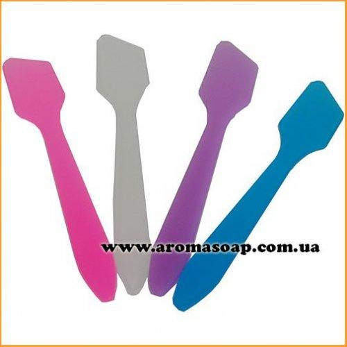 Шпатель-лопатка косметичний кольоровий
