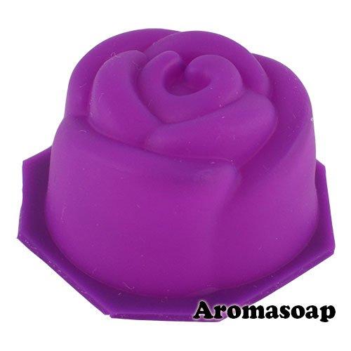 Форма для мыла Роза-мини