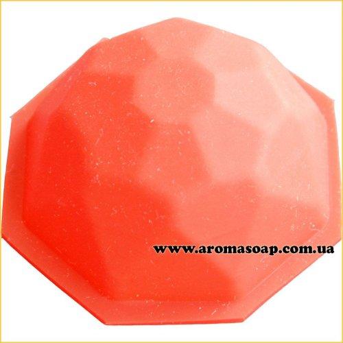Силиконовая форма для мыла Изумруд