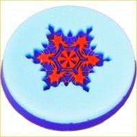 Снежинка 01 штамп (силикон)