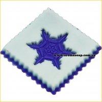 Снежинка 03 штамп (силикон)