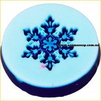 Снежинка №2 штамп (силикон)