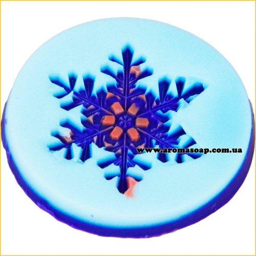 Снежинка 05 штамп (силикон)