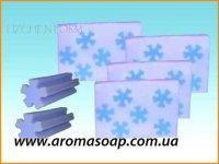 Снежинка (для брускового мыла) элит-форма