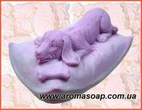 Собачка на подушці еліт-форма