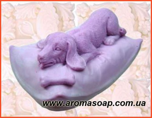 Собачка на подушке элит-форма